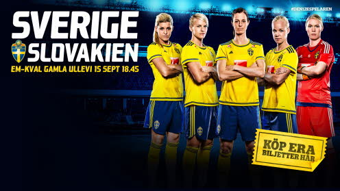Sverige-Slovakien 15 september