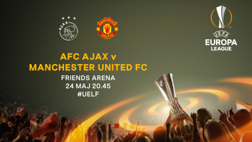 Ajax-Manchester United spelar final på Friends Arena.