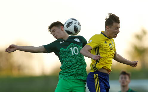 Timossi Andersson i duell.